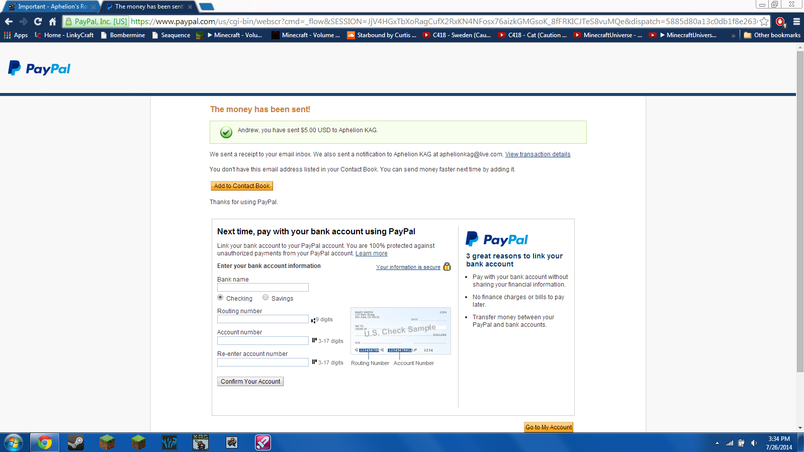 Aphelion PayPal proof.PNG