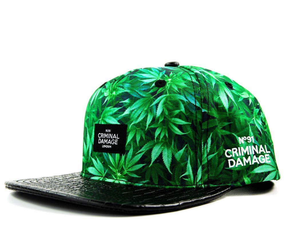 casquette-criminal-damage-highlife-weed-vert-snake.jpg